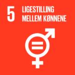 FNs Verdensmål 5: Ligestilling mellem kønnene.