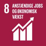 FNs Verdensmål 8: Anstændige jobs og økonomisk vækst.